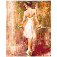 Картина по номера - Балерина ZG-0130