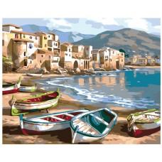Картина по номера - Лодки ZG-0135