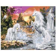 Картина по номера - Вълшебни коне ZG-0141