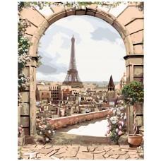 Картина по номера - Париж ZG-0152