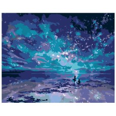 Картина по номера - Звездно море  ZG-0160