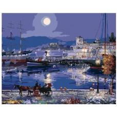 Картина по номера - Нощен порт ZG-0161