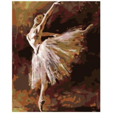 Картина по номера - Балерина ZG-0207