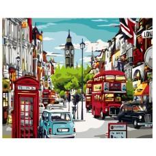 Картина по номера - Лондон ZG-0212