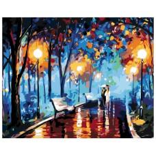 Картина по номера - Вечерна разходка ZG-0214