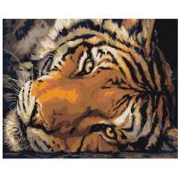 GI 304116 Диамантен гоблен - Тигър