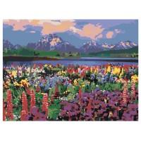 PZ 304099 Диамантен гоблен - Цветно поле
