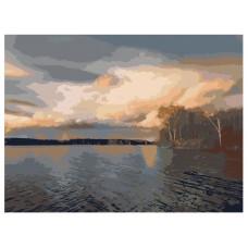 PZ 304161 Диамантен гоблен - Езеро