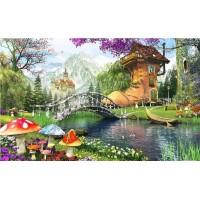 PZ 304149 Диамантен гоблен - Приказна къща