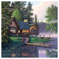 PZ 304150 Диамантен гоблен - Ваканционен дом