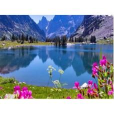 PZ 304153 Диамантен гоблен - Планинско езеро