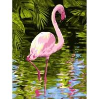 GI 304153 Диамантен гоблен - Фламинго
