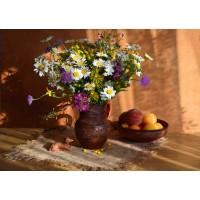 FL 304114 Сутрешни цветя - Диамантен гоблен