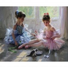 Комплект за рисуване по номера. Балерини – GX 5403