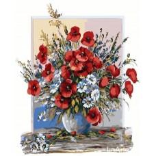 Комплект за рисуване по номера. Цветя – GX 26293