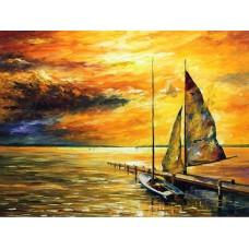 Комплект за рисуване по номера. Морски пейзаж – GX 3542
