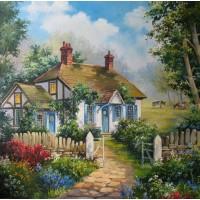 Къща Картина по номера GX 28068