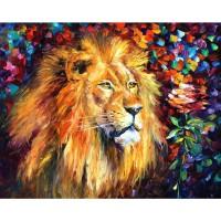 Шарен лъв Картина по номера GX 39932