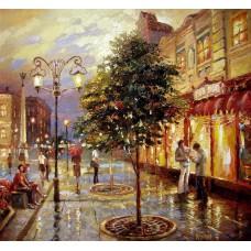 Градски пейзаж Картина по номера GX 39930