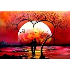 Вечер за влюблени Картина по номера GX 39931