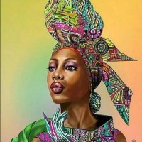 Африканка Картина по номера GX 33186