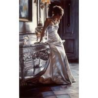 Романтична дама Картина по номера GX 39674