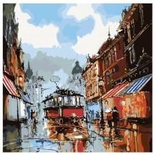 Картина по номера - Уличен трамвай  ZP-021