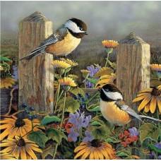 Картина по номера - Птици в полето  ZP-085