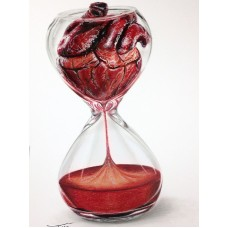 Картина по номера - Сърце и време ZE-3153
