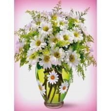 Картина по номера - Лайка във ваза ZE-3157