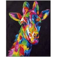 Шарен жираф - Картина по номера CX 3642