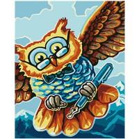 Мъдра сова - Картина по номера CX 3679