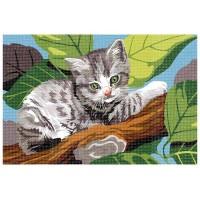 Котка на дървото - Картина по номера CX 3740