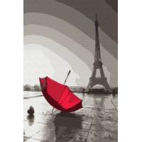 Дъждовен Париж - Картина по номера CX 3823