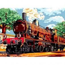 Влак - Картина по номера - EX 6113