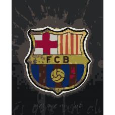 Картина по номера -  Клуб Барселона ZG-241