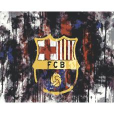 Картина по номера -  Клуб Барселона ZG-363