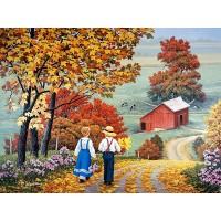 PZ 304162 Селски пейзаж - Диамантен гоблен