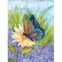 GI 304165 Синя пеперуда - Диамантен гоблен