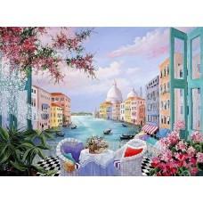 Венециански скици - Диамантен гоблен PZ 405107