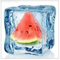 RZ 303019 Диамантен гоблен -  Диня  и лед