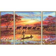 Триптих Африка