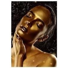Черно и златно- диамантен гоблен LD 304065